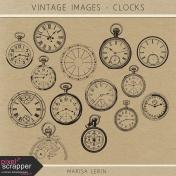 Vintage Images Kit- Clocks