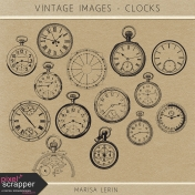 Vintage Images Kit- Clocks