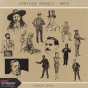Vintage Images Kit- Men