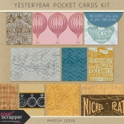 Yesteryear Pocket Cards Kit