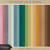 Yesteryear Solid Papers Kit
