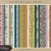Yesteryear Basic Papers Kit