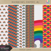 Rainbow Papers Kit #2