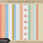 Peachy Keen Papers Kit