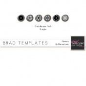 Brad Set #1 Flowers Kit
