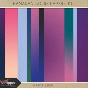 Ramadan Solid Papers Kit