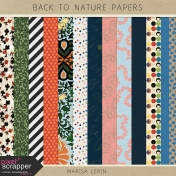 Back To Nature Papers Kit