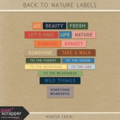 Back to Nature Labels Kit