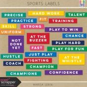 Sports Labels Kit