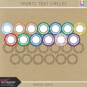 Sports Text Circle Kit