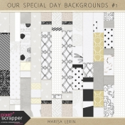 Our Special Day Backgrounds Kit #1