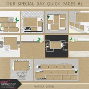 Our Special Day Quick Pages Kit #2