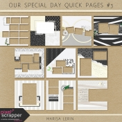 Our Special Day Quick Pages Kit #3