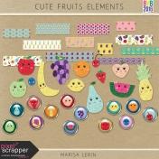 Cute Fruits Elements Kit