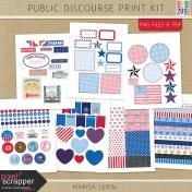 Public Discourse Print Kit