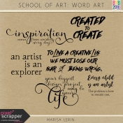 School of Art: Word Art Kit