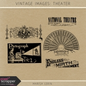 Vintage Images Kit- Theater
