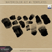 Watercolor Kit #1 Templates