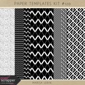 Paper Templates Kit #120