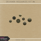 Resource Kit #6- Metal Buttons