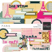Paris Tags Kit