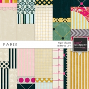 Paris Backgrounds Kit