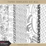 Paper Templates Kit #123
