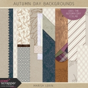 Autumn Day Backgrounds Kit