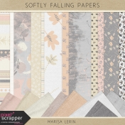 Softly Falling Papers Kit