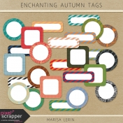 Enchanting Autumn Tags Kit