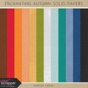Enchanting Autumn Solid Papers Kit