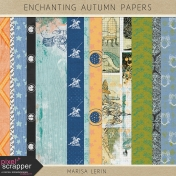 Enchanting Autumn Papers Kit #1