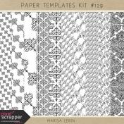Paper Templates Kit #129