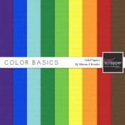Color Basics Solid Papers Kit