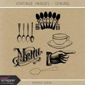 Vintage Images Kit- Dining