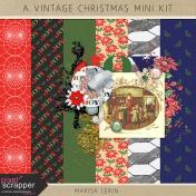 A Vintage Christmas Mini Kit