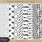 Paper Templates Kit #132