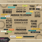 Tangible Hope Word Art Kit