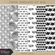Paper Templates Kit #136