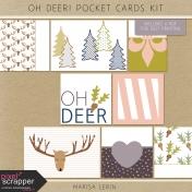 Oh Deer! Pocket Cards Kit