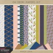 Oh Deer! Papers Kit