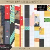 Work Day Backgrounds Kit
