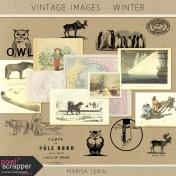 Vintage Images Kit- Winter