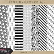 Paper Templates Kit #137