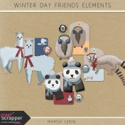 Winter Day Friends Elements Kit