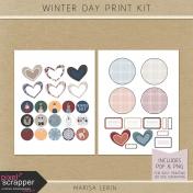 Winter Day Print Kit