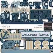 Navy Elements Kit