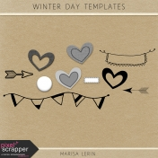 Winter Day Templates Kit