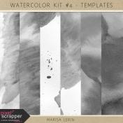 Watercolor Kit #4- Paper Templates