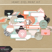 Heart Eyes Print Kit